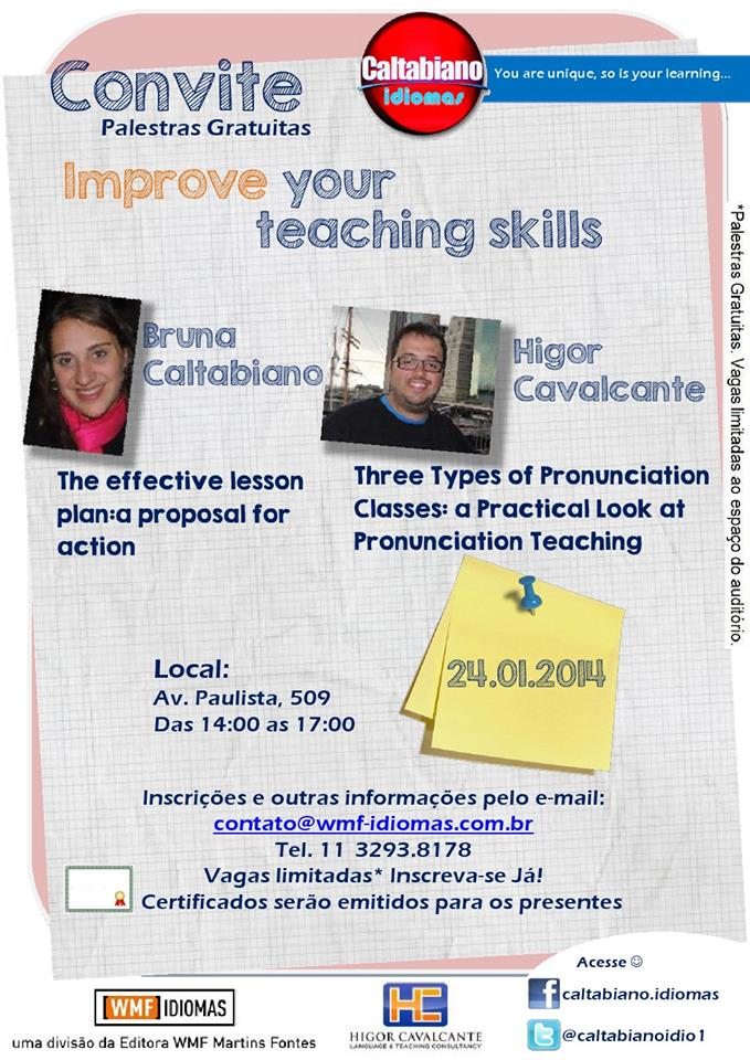 Workshops for teachers in São Paulo